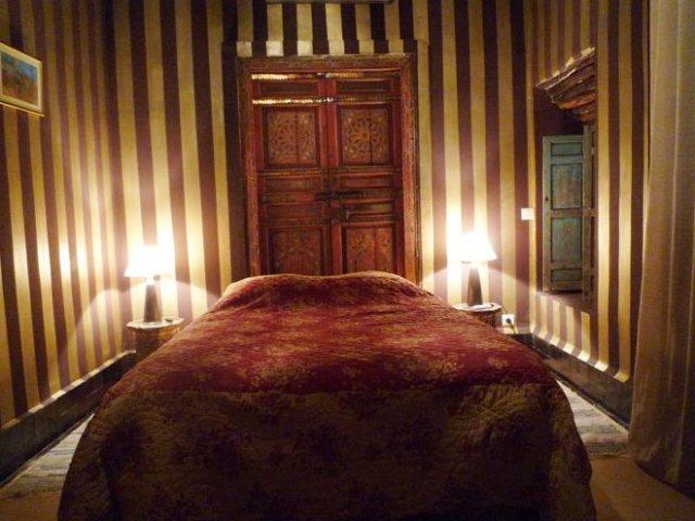 Dar el banafsaj votre maison d 39 h te marrakech chambre for Chambre d hote marrakech