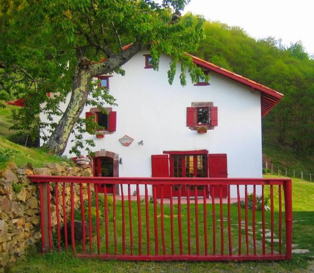 Idiartekoborda chambre d 39 h te saint etienne de baigorry - Chambre d hote pyrenees atlantiques ...