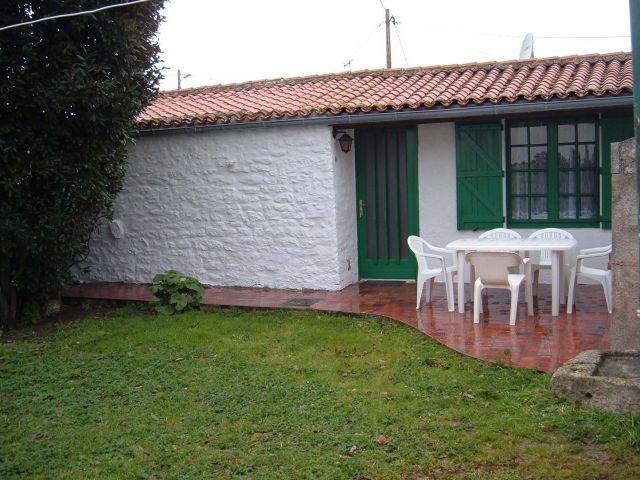 Petite maison jardin clos maison villa saint denis d 39 oleron charente maritime 17 - Petit jardin newfoundland saint denis ...