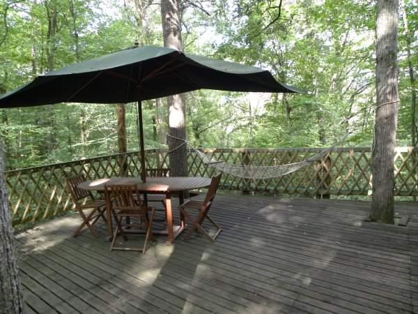 ma cabane dans les arbres g te rural rieumes haute. Black Bedroom Furniture Sets. Home Design Ideas