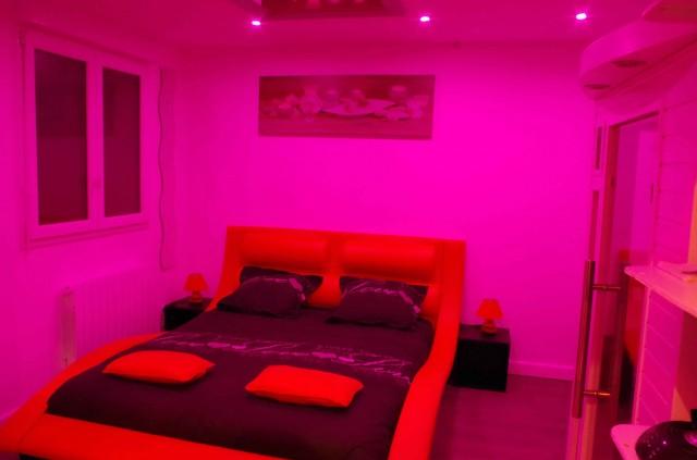 Chambre des reflets chambre d h te avec spa et sauna - Chambre d hote lit et mixe ...