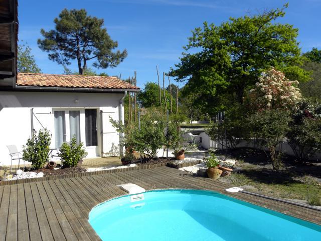 La villa mogador suite et chambre piscine et baln o - Piscine andernos les bains ...