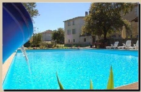 L 39 amiraut sur ba se chambre d 39 h te saint jean poutge for Baise dans la piscine