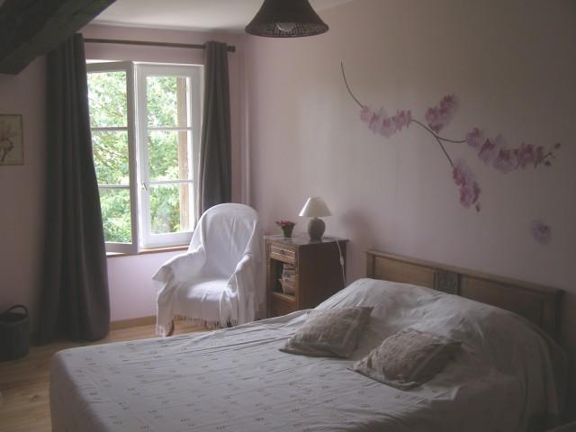 Beautiful Chambre Vieux Rose Et Lin Photos House Design