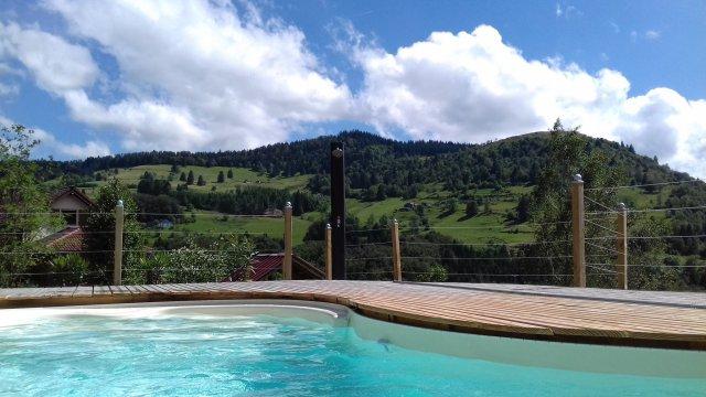 Le clos des iris avec spa et sauna piscine chauff e priv e g te rural le m nil vosges 88 - Gite dans les landes avec piscine ...