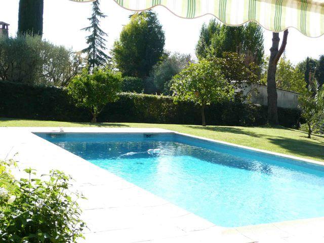 Villa st paul de vence avec piscine chauff e chambre d - Chambre d hote avec piscine chauffee ...