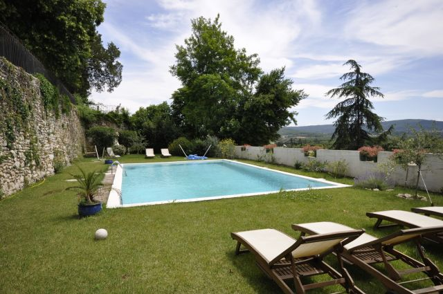 Le castel du mont bois demeure de charme en dr me - Chambre d hote drome provencale avec piscine ...