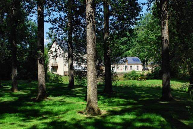 Le moulin de thuboeuf chambre d 39 h te nuille sur vicoin for Chambre d hote le moulin